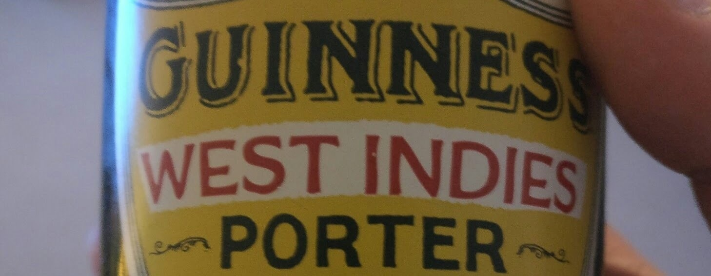 Banner: Guinness - West Indies Porter