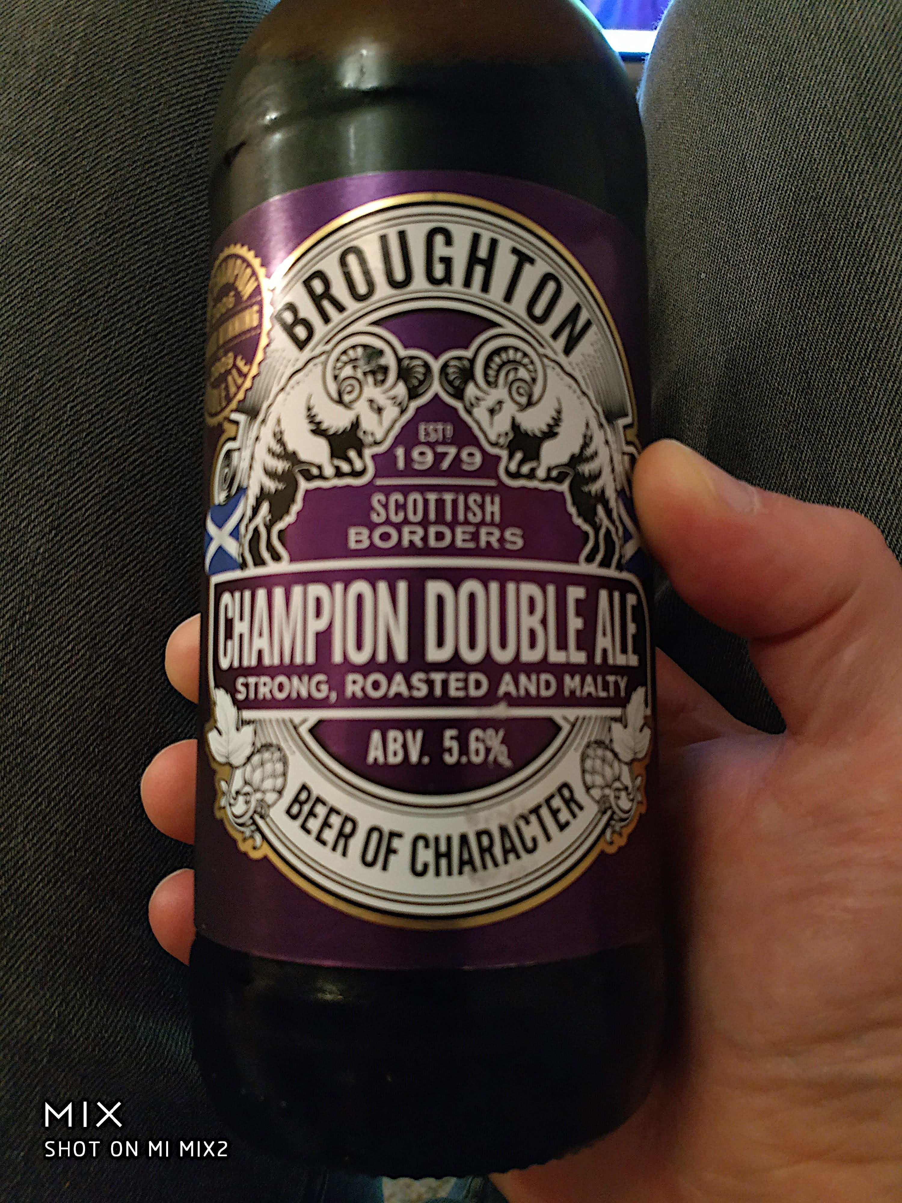 Broughton - Champion Double Ale