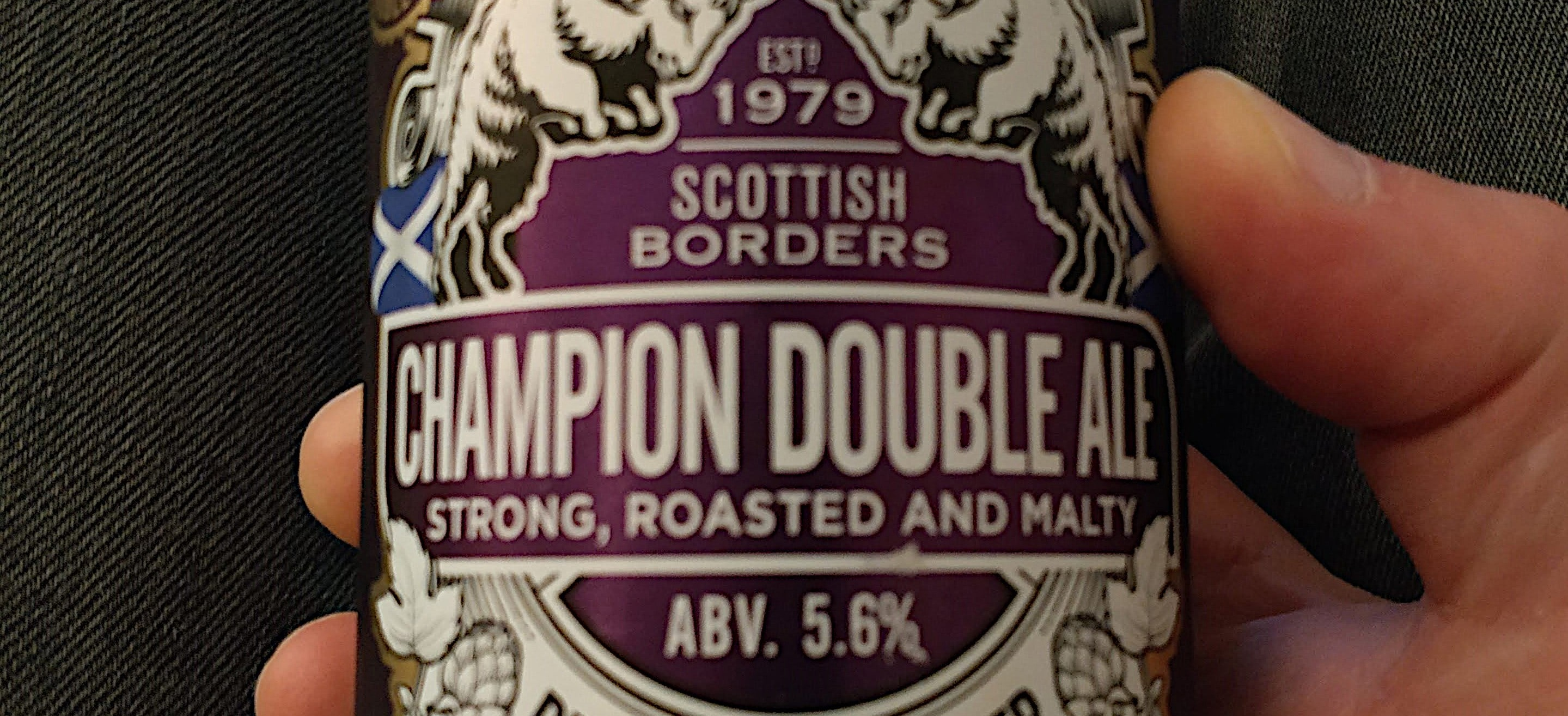 Banner: Broughton - Champion Double Ale